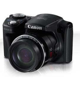 PowerShot SX500 IS и PowerShot SX160 IS от Canon