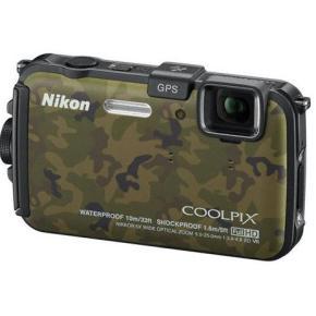 Прочная камера COOLPIX AW100