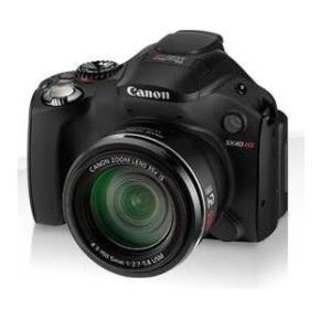 Canon PowerShot SX40 HS - поможет в темноте