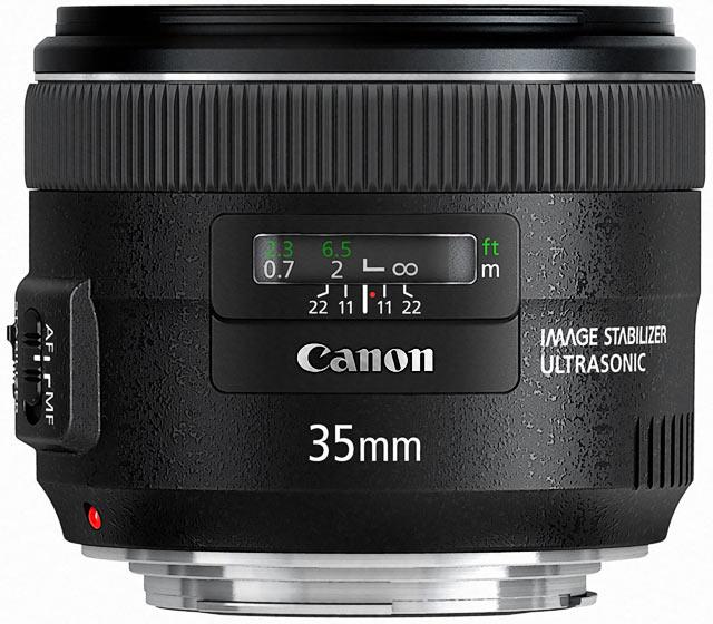 EF 35 мм f2 IS USM canon